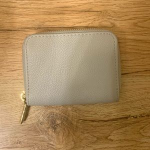 Forever 21 gray wallet